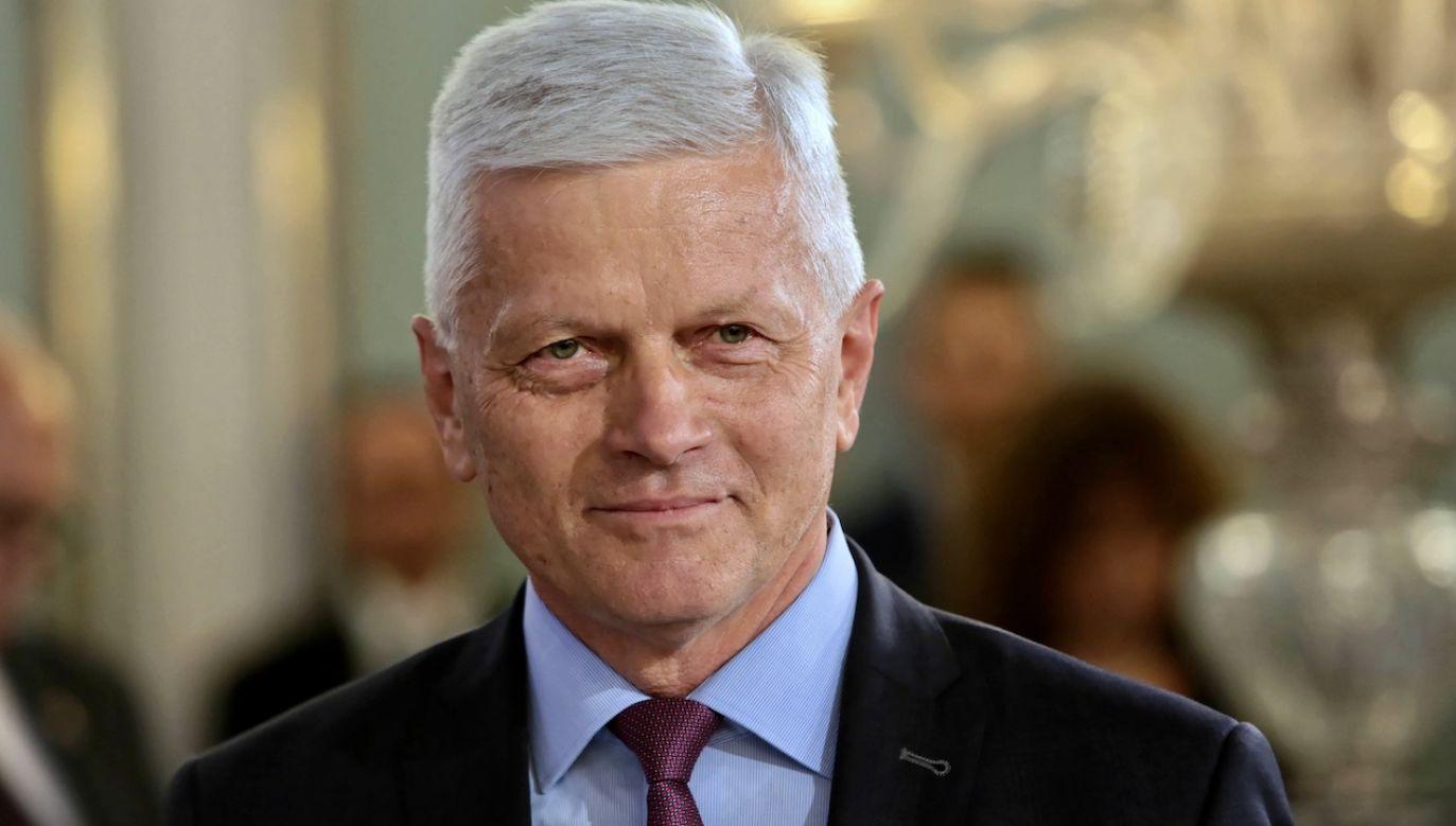 To kolejny zakażony parlamentarzysta (fot. arch.PAP/Leszek Szymański)