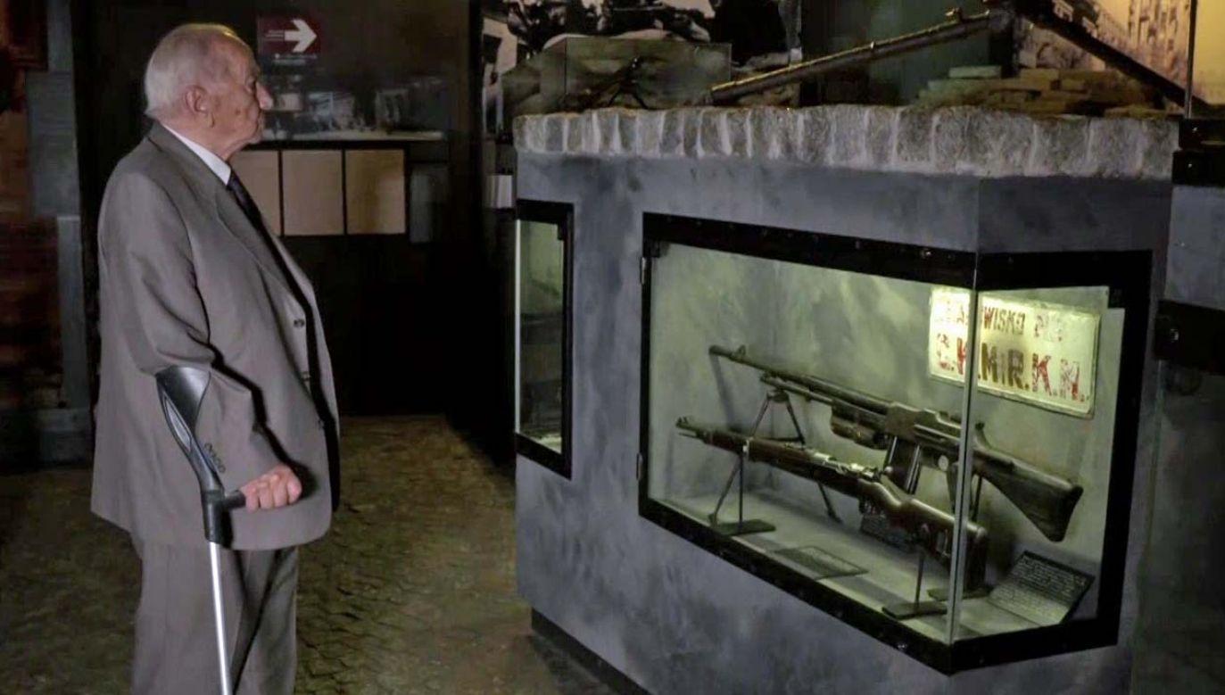 Jerzy Mindziukiewicz ps. Jur (fot. TVP1)