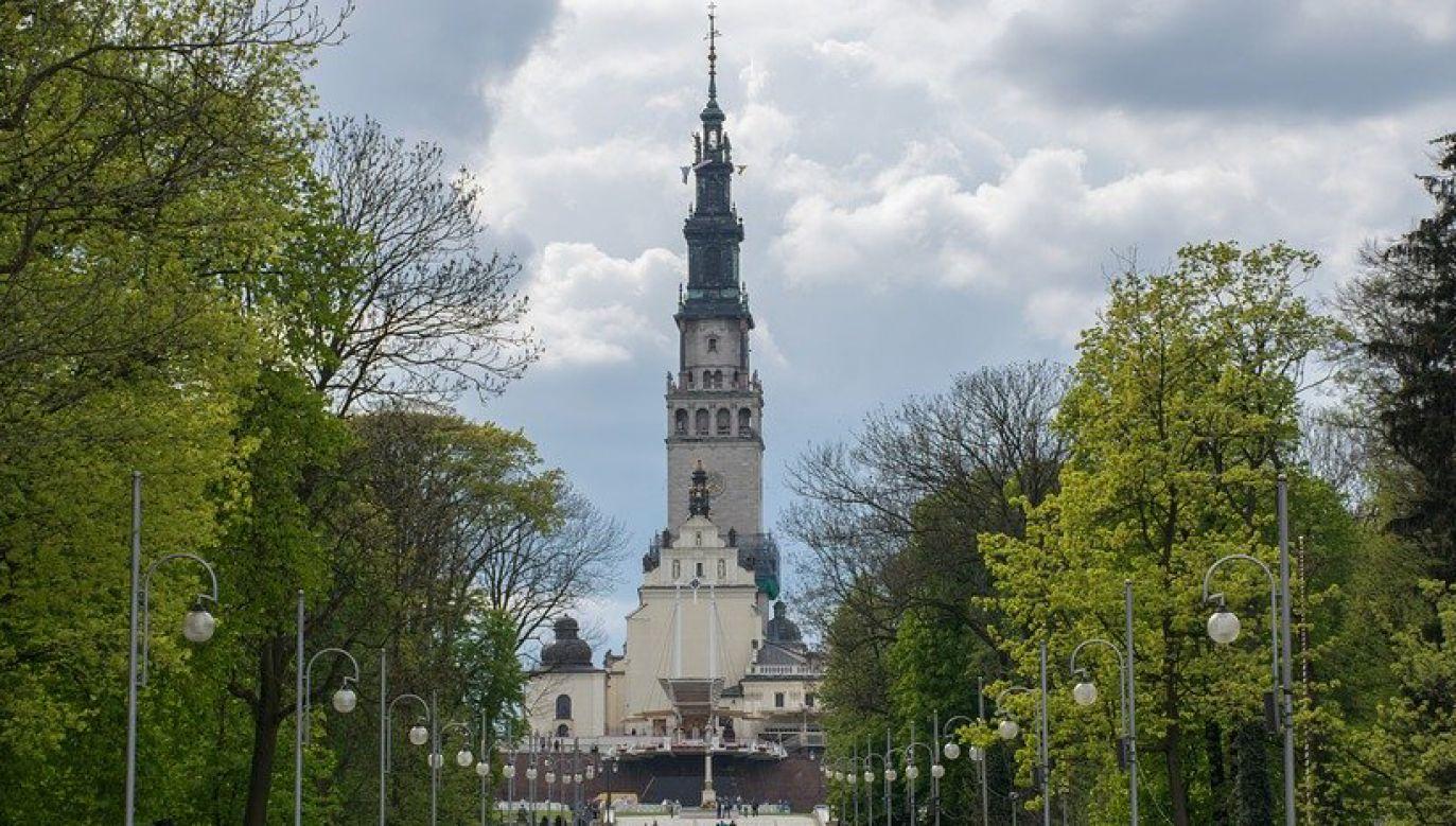 Jasna Góra – sanktuarium wraz z klasztorem zakonu paulinów w Częstochowie (pixabay.com/MBoguslaw)