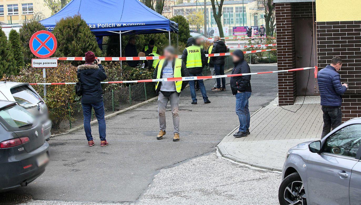 Sytuacja zmusiła policjanta do użycia broni – tłumaczy rzecznik KGP (fot. PAP/Tomasz Wojtasik)
