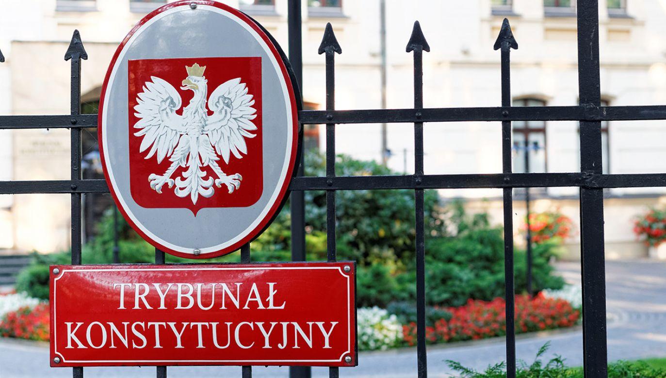 Wyrok Trybunału Konstytucyjnego jest ostateczny (fot. Shutterstock/Mateusz_Szymanski)