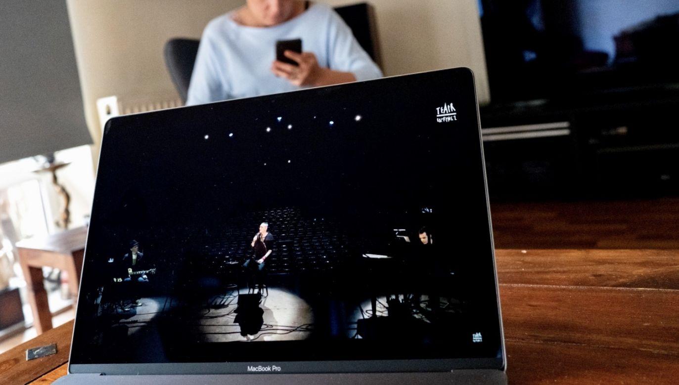 Obchody Międzynarodowego Dnia Teatru przeniesione do Internetu (fot. PAP/Andrzej Grygiel)