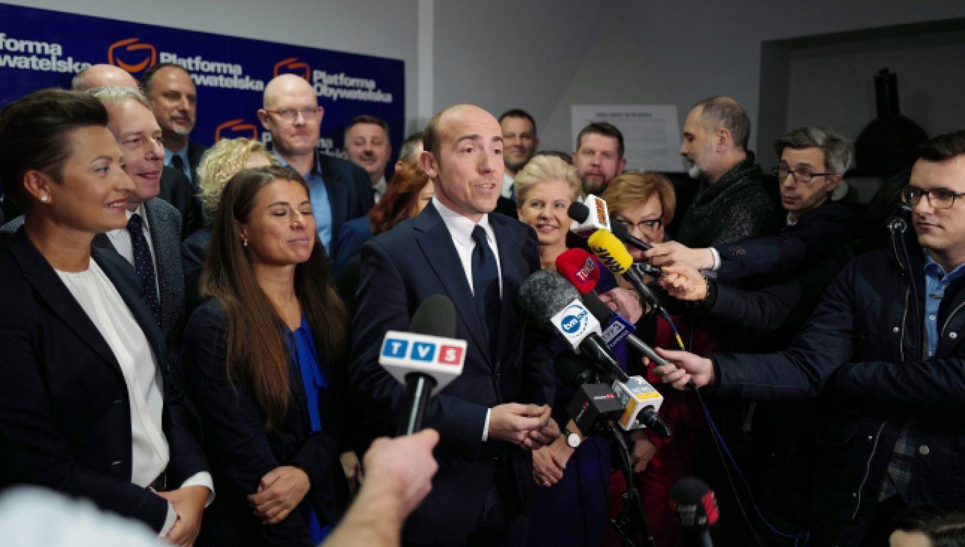 Dla Budki najważniejszym zadaniem na najbliższe miesiące są wybory prezydenckie  (fot. PAP/Andrzej Grygiel)