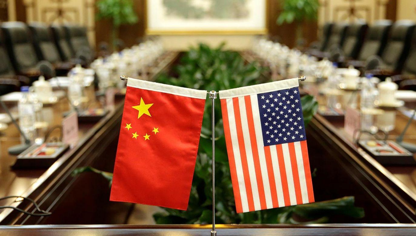 Relacje na linii Waszyngton-Pekin uległy pogorszeniu w trakcie pandemii koronawirusa (fot. REUTERS/Jason Lee)