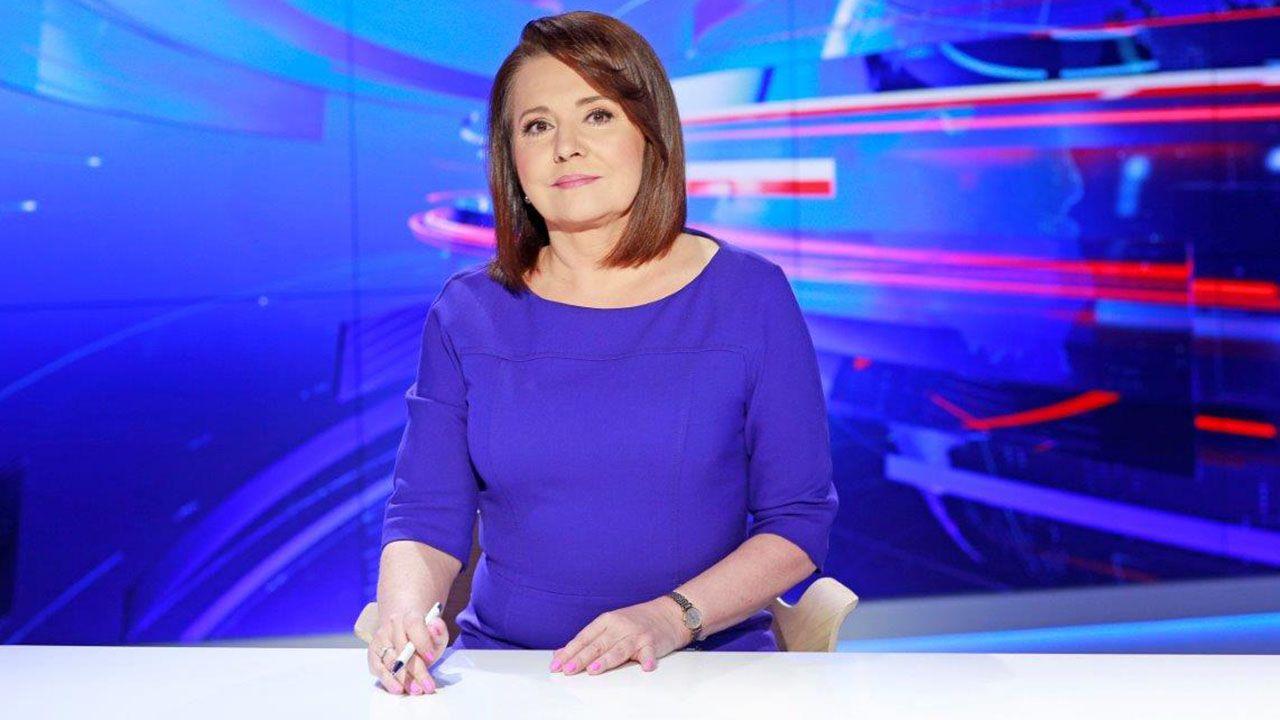 Dziennikarka TVP Danuta Holecka (fot. TVP)