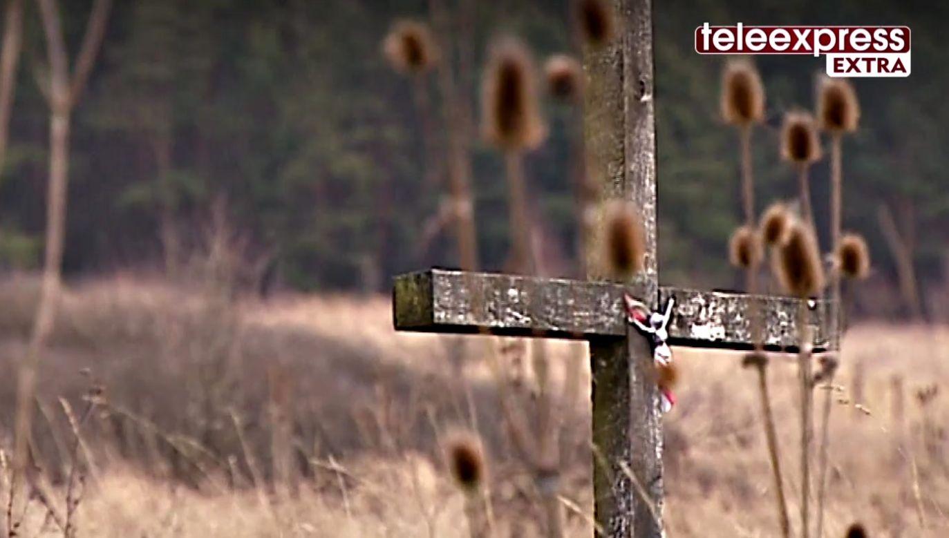 Do zbrodni w zamieszkałej przez ludność polską wsi Huta Pieniacka doszło 28 lutego 1944 r (fot. TVP.INFO)