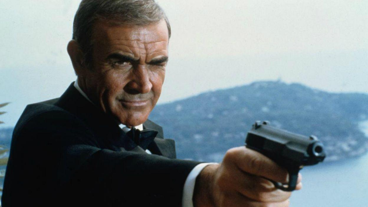 """W """"Nigdy nie mów nigdy"""" Connery po raz siódmy zagrał agenta 007 (fot. TVP)"""