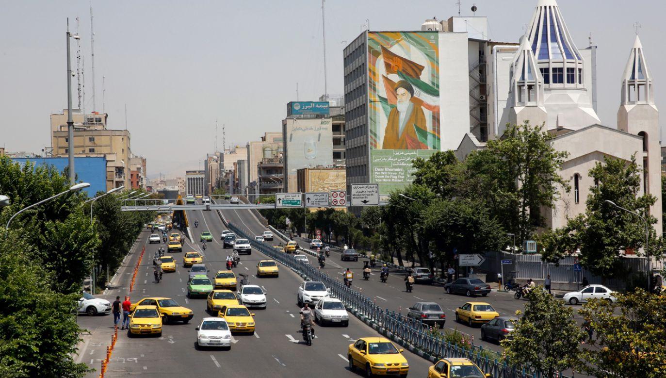 USA zapowiadają zwiększenie presji ekonomicznej na Iran (fot. PAP/EPA/ABEDIN TAHERKENAREH)