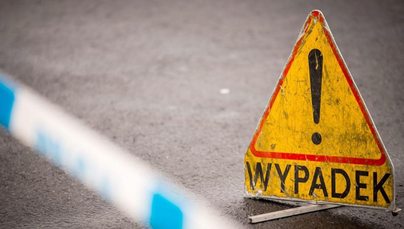 Dwie ranne osoby trafiły do szpitala (fot. arch. PAP/Leszek Szymański)