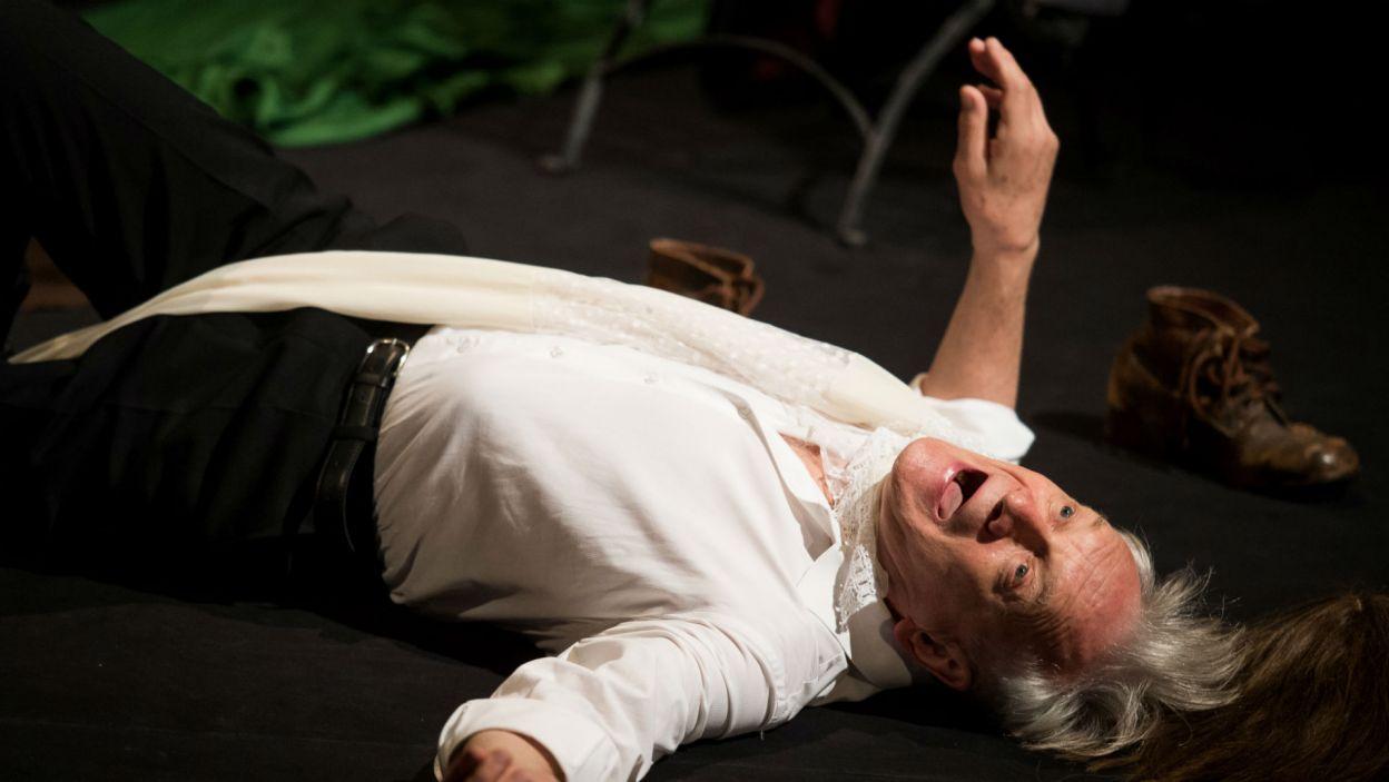 Aktor wcieli się w bohaterów tragedii i komedii wielkiego stratfordczyka  (fot. Jan Bogacz/TVP)