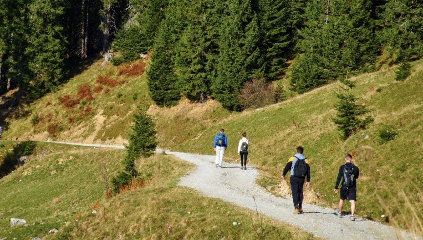 Bärenschützklamm jest uczęszczanym miejscem przez licznych turystów (fot. EyesWideOpen/Getty Images)