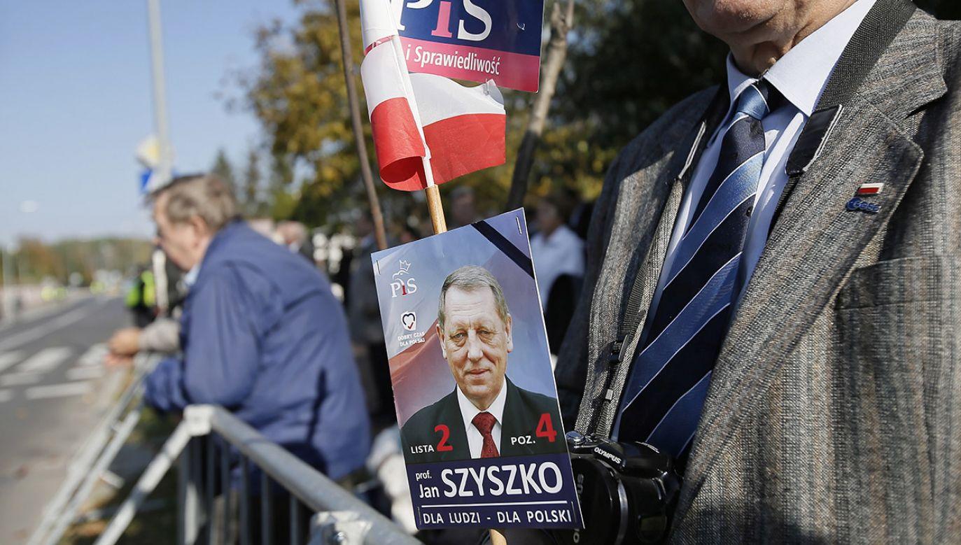 Prof. Jan Szyszko zmarł 9 października w wieku 75 lat (fot. PAP/Leszek Szymański)
