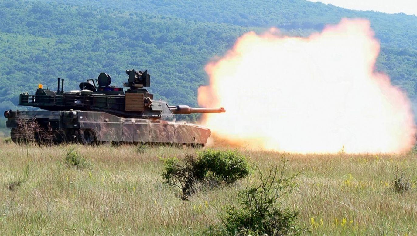 Na Litwę trafiły m.in. amerykańskie czołgi typu Abrams (fot. Army.mil/Sgt. Alan Brutus)