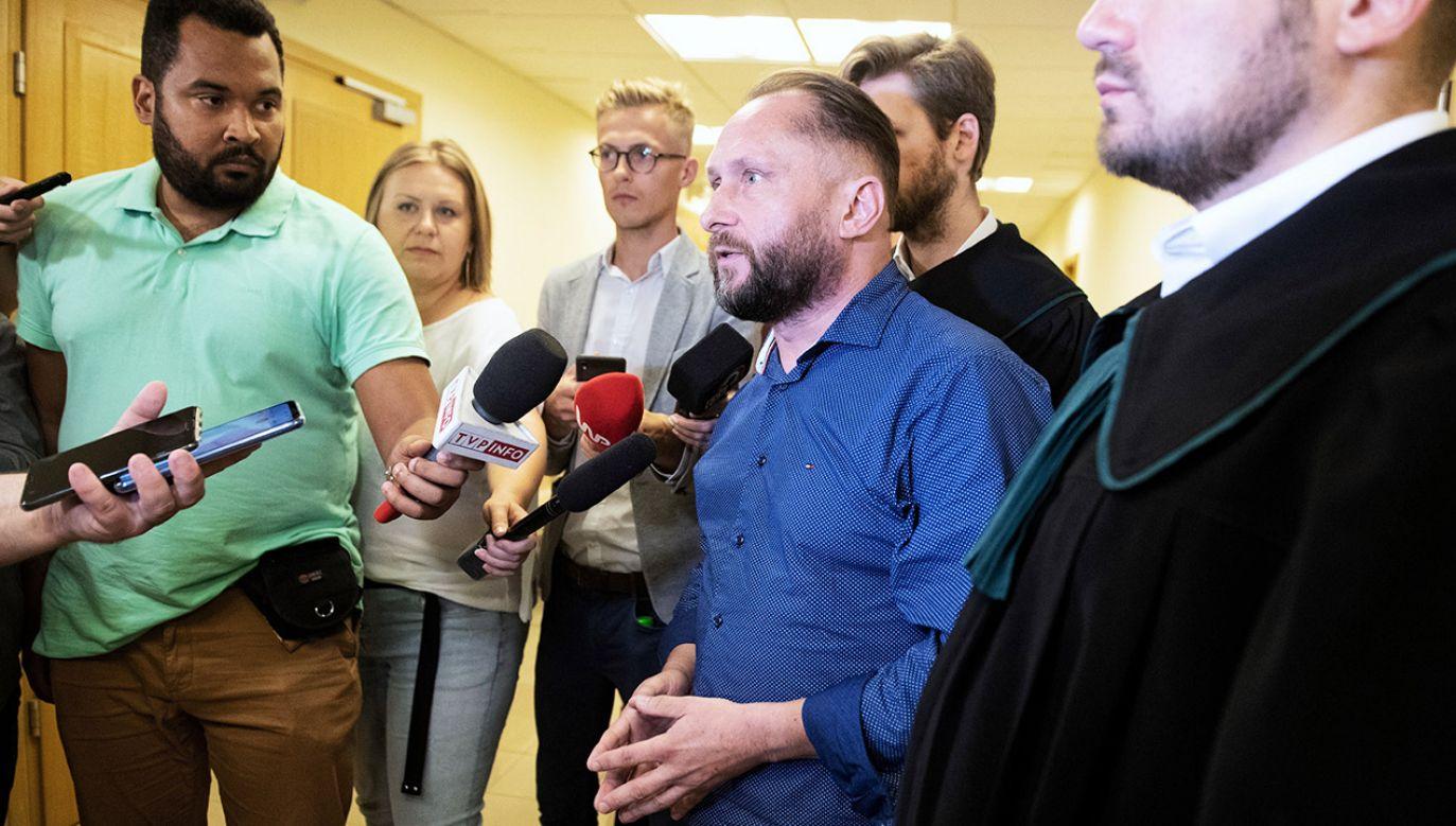 Kamil Durczok pada ofiarą krytyki, ale znajduje również obrońców (fot. PAP/Grzegorz Michałowski)