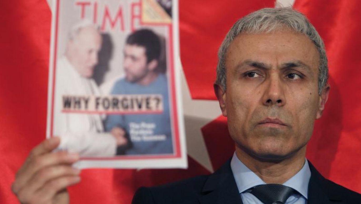 Za próbę zamachu Agca został skazany na dożywocie (fot. REUTERS/Osman Orsal)