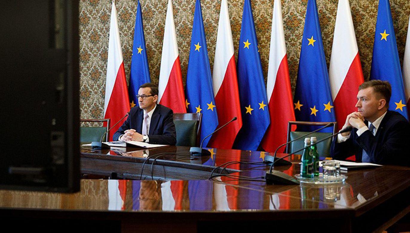 Obraduje rząd (fot. KPRP/Krystian Maj)