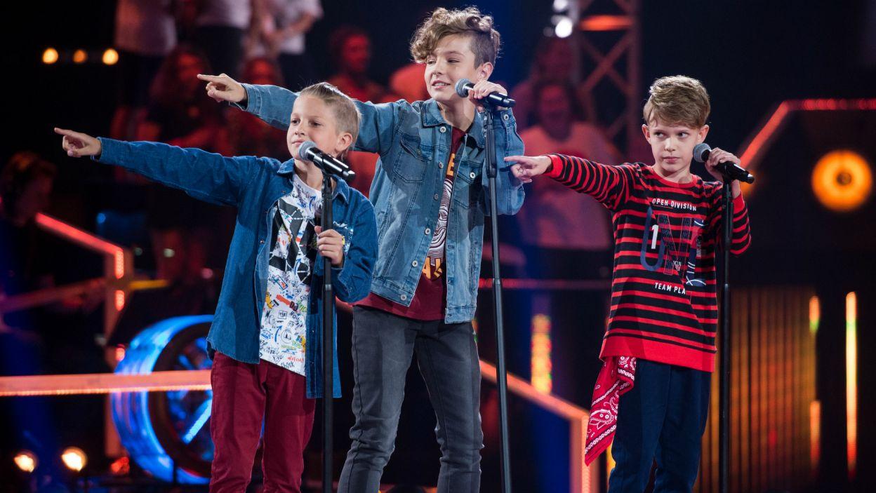 Każdy z młodych wokalistów starał się zaśpiewać jak najlepiej (fot.TVP)