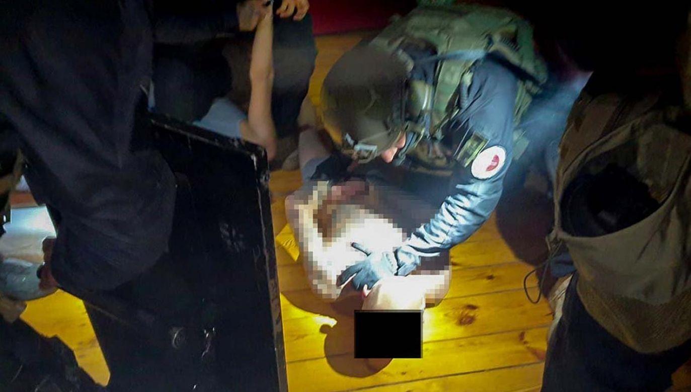Funkcjonariusze od kilku miesięcy rozpracowywali zorganizowaną grupę przestępczą (fot. CBŚP)