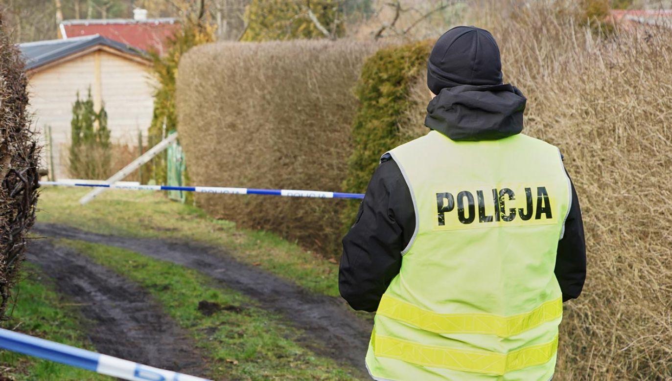 Policja odnalazła ciało chłopca (fot. arch. PAP/Jan Dzban, zdjęcie ilustracyjne)