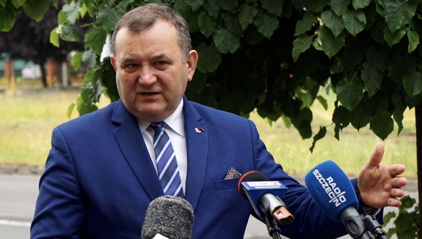 Stanisław Gawłowski usłyszał już prokuratorskie zarzuty (fot. arch.PAP/Marcin Bielecki)