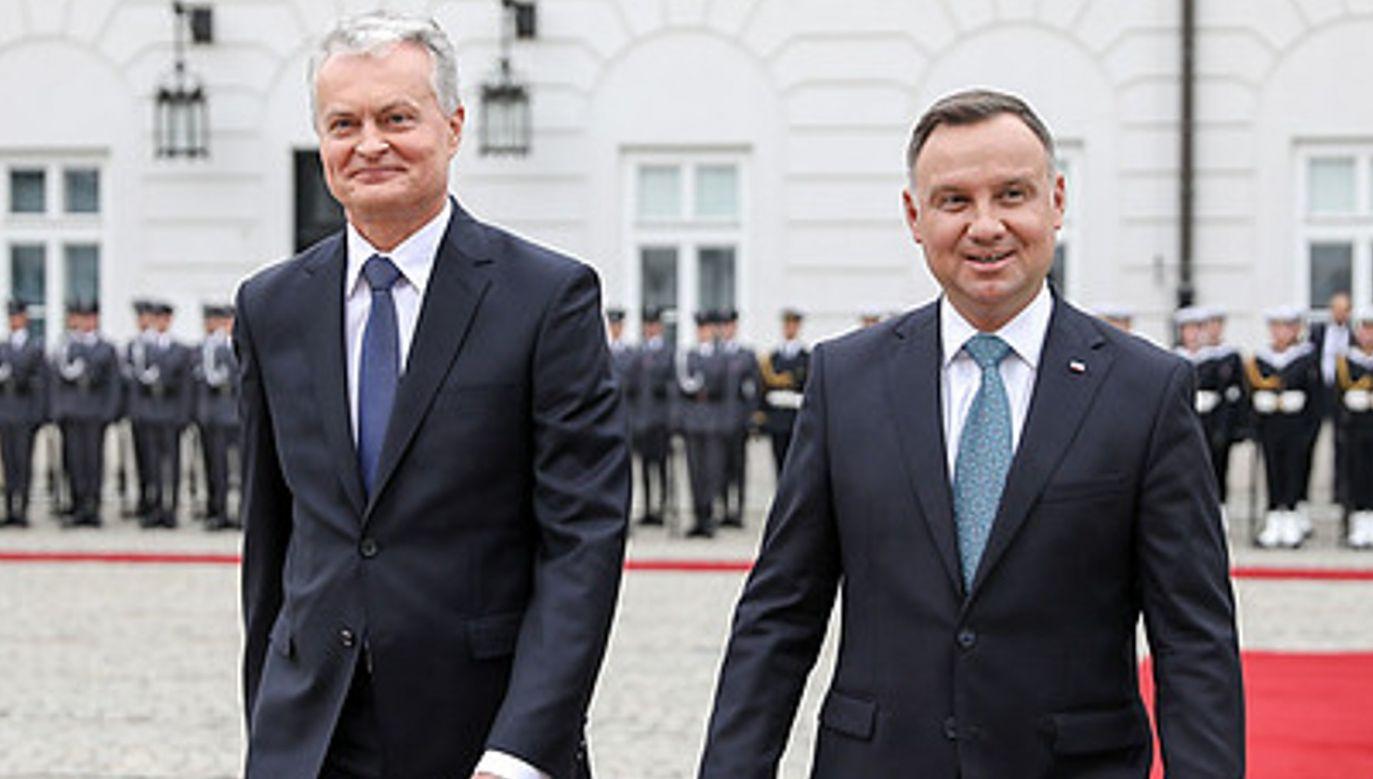 Prezydenci Polski i Litwy Andrzej Duda i Gitanas Nauseda otworzą  wystawę (fot. KPRP/Jakub Szymczuk, zdjęcie ilustracyjne)