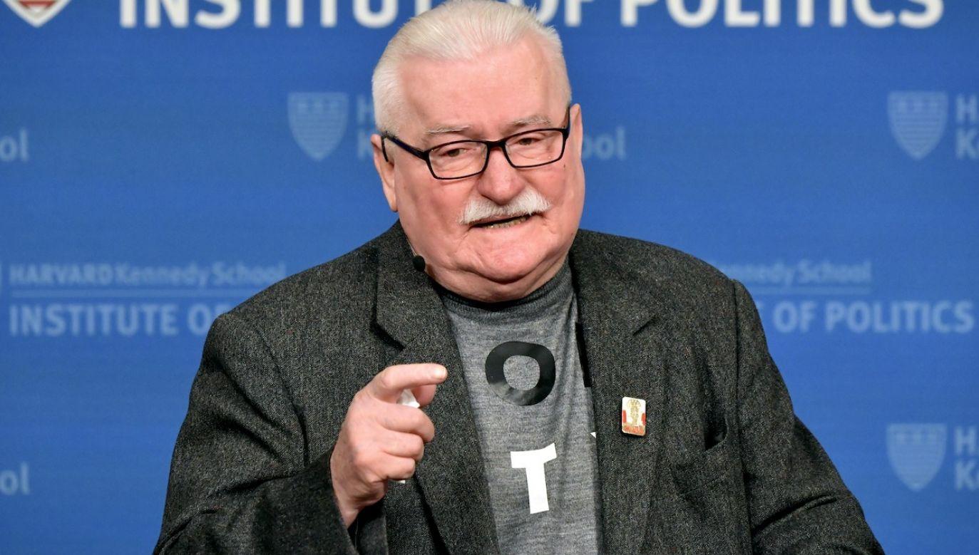 """– Różni powiedzą: """"On jest za mądry, skreślić"""" – powiedział o Rafale Trzaskowskim były prezydent (fot. Paul Marotta/Getty Images)"""