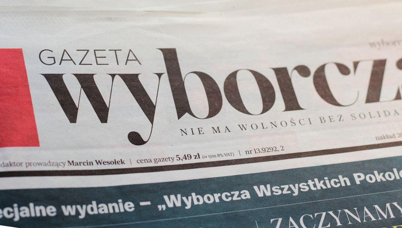 """""""Gazeta Wyborcza"""" ma przeprosić (fot. Shutterstock/Anna Gawlik)"""