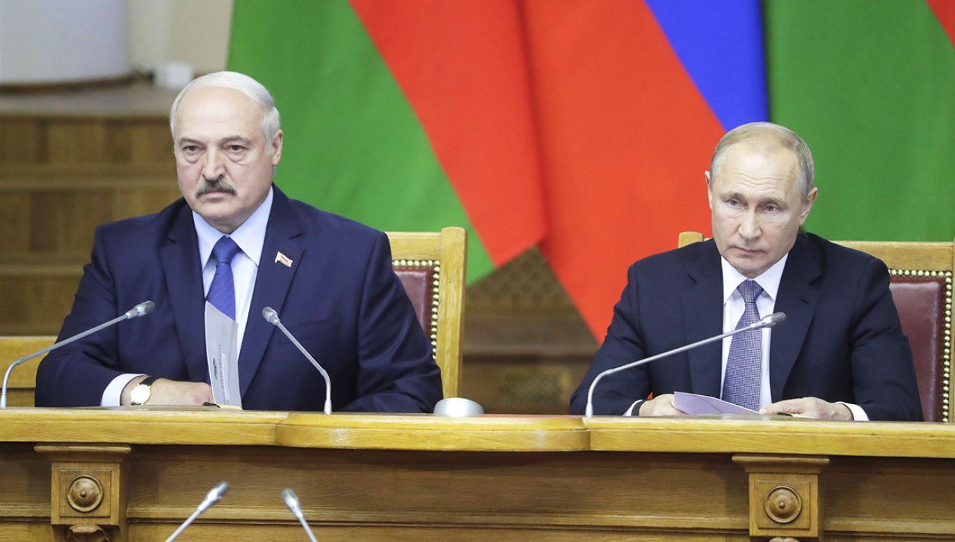 6 i 7 grudnia zaplanowano białorusko-rosyjskie rozmowy o zacieśnieniu integracji (fot. Mikhail Metzel\TASS via Getty Images)