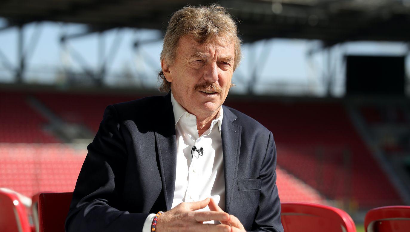 Zbigniew Boniek sam podjął decyzję o zwolnieniu Jerzego Brzęczka (fot. Getty Images)
