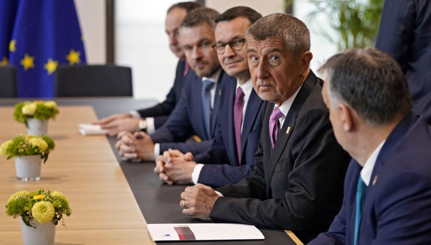 Trwają rozmowy ws. unijnego budżetu (fot. PAP/EPA/KENZO TRIBOUILLARD)