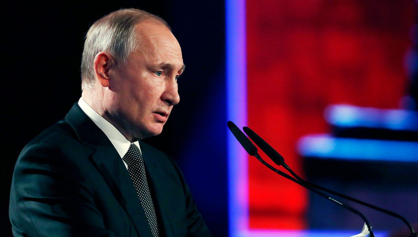 Zdaniem prof. Wysockiego, rosyjski prezydent uznał, że nie opłaci mu się tu zagrać va banque (fot. PAP/EPA/RONEN ZVULUN / POOL)