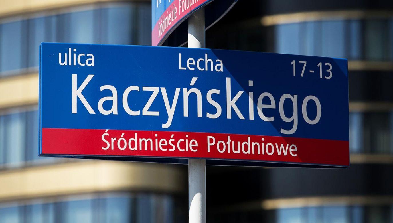 Rafał Trzaskowski zapowiedział w kampanii, że po wyborach prezydenckich w Warszawie pojawi się ulica Lecha Kaczyńskiego (fot. Mateusz Wlodarczyk/NurPhoto via Getty Images)