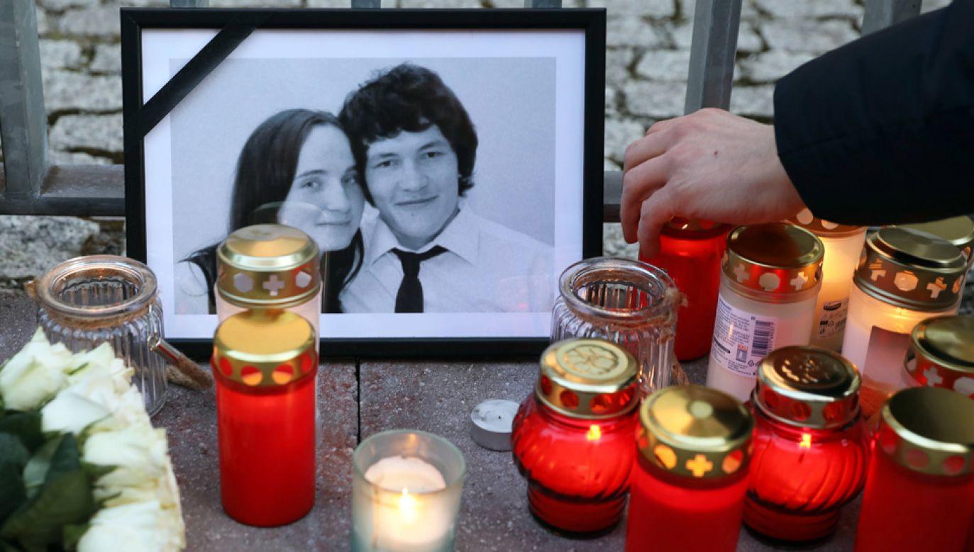 Jan Kuciak i Martina Kusznirova zostali zastrzeleni we własnym domu (fot. arch.PAP/EPA/FELIPE TRUEBA)