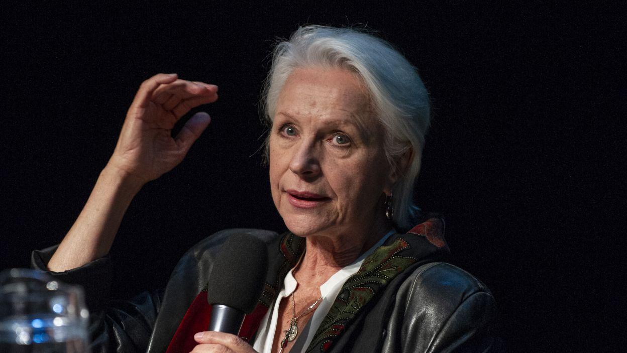 Wielką Nagrodę Festiwalu za całokształt twórczości otrzymała także Halina Łabonarska (fot. Natasza Młudzik/TVP)