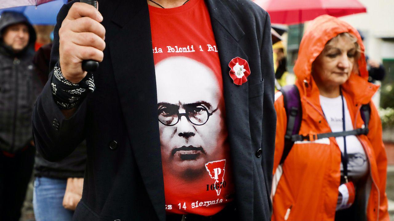 80. rocznica śmierci o. Maksymiliana Marii Kolbego (fot. B.Zawrzel/NurPhoto/Getty Images)