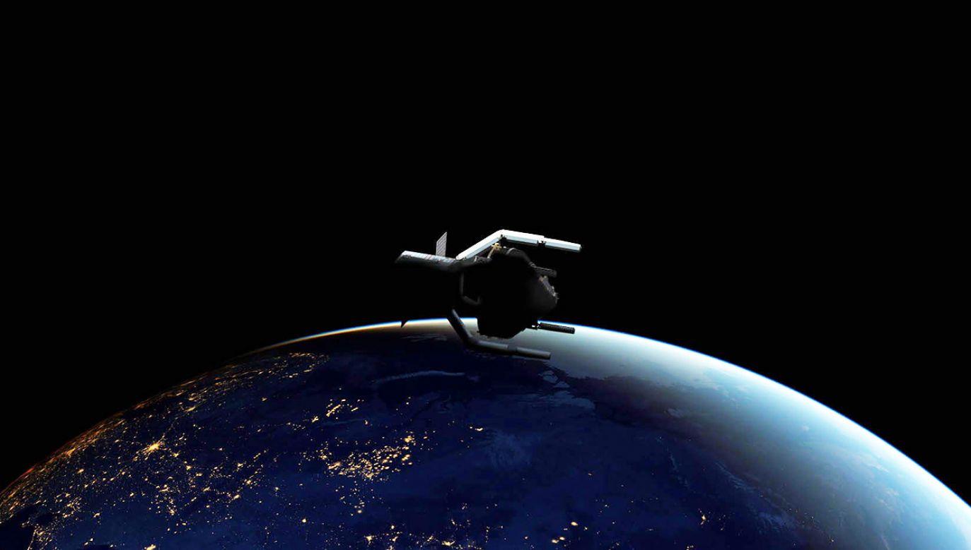 Nawet gdyby zaprzestać lotów w kosmos, liczba odpadów będzie kaskadowo rosła (fot. ESA/ClearSpace SA / HANDOUT)