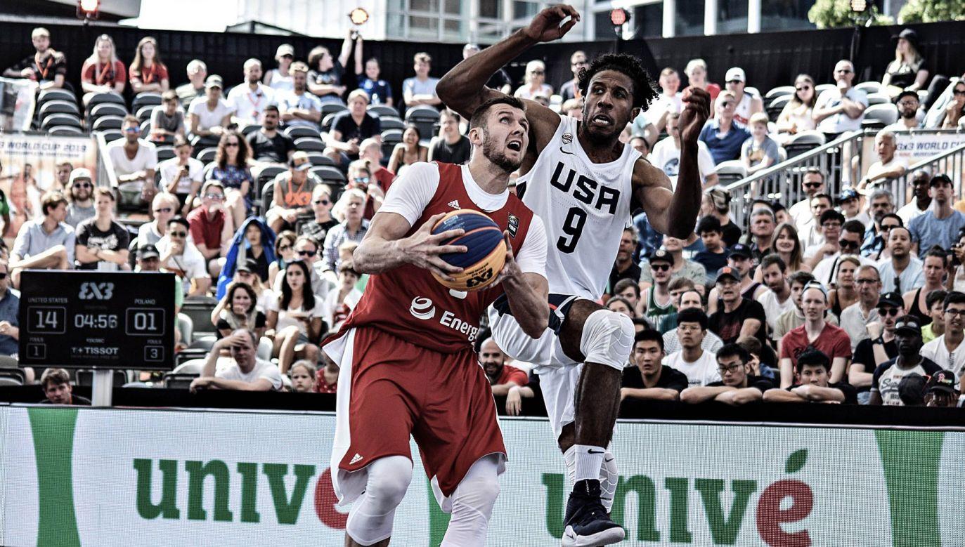 Wcześniej w niedzielę Polska grała w 1/2 finału z USA (fot. Facebook/KOSZ KADRA)
