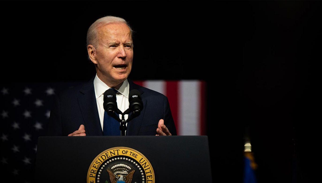 Prezydent USA Joe Biden (fot. Brandon Bell/Getty Images)