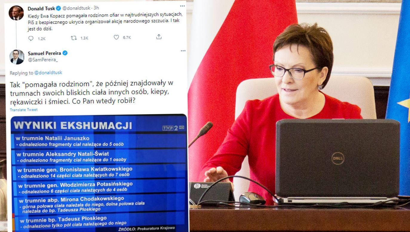 Samuel Pereira pisze o efektach pracy Ewy Kopacz w Rosji (fot. NurPhoto/NurPhoto via Getty Images; TT)