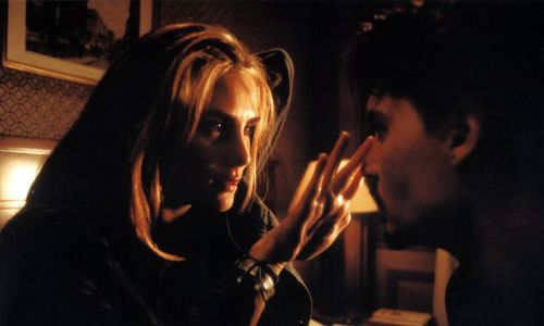 Lena Olin i Johny Depp w