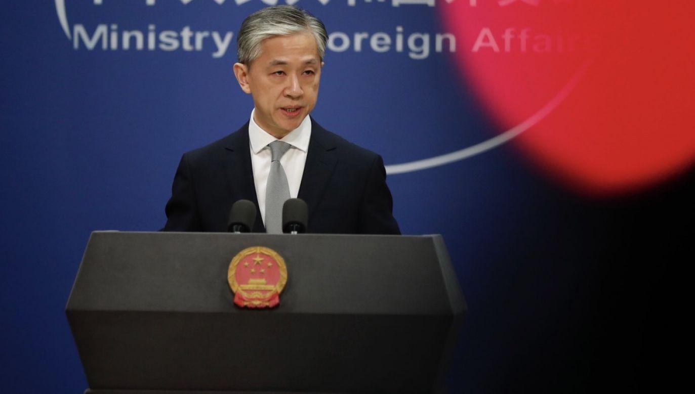 Spór o dziennikarzy to element narastającego konfliktu amerykańsko-chińskiego (fot. PAP/EPA/WU HONG)