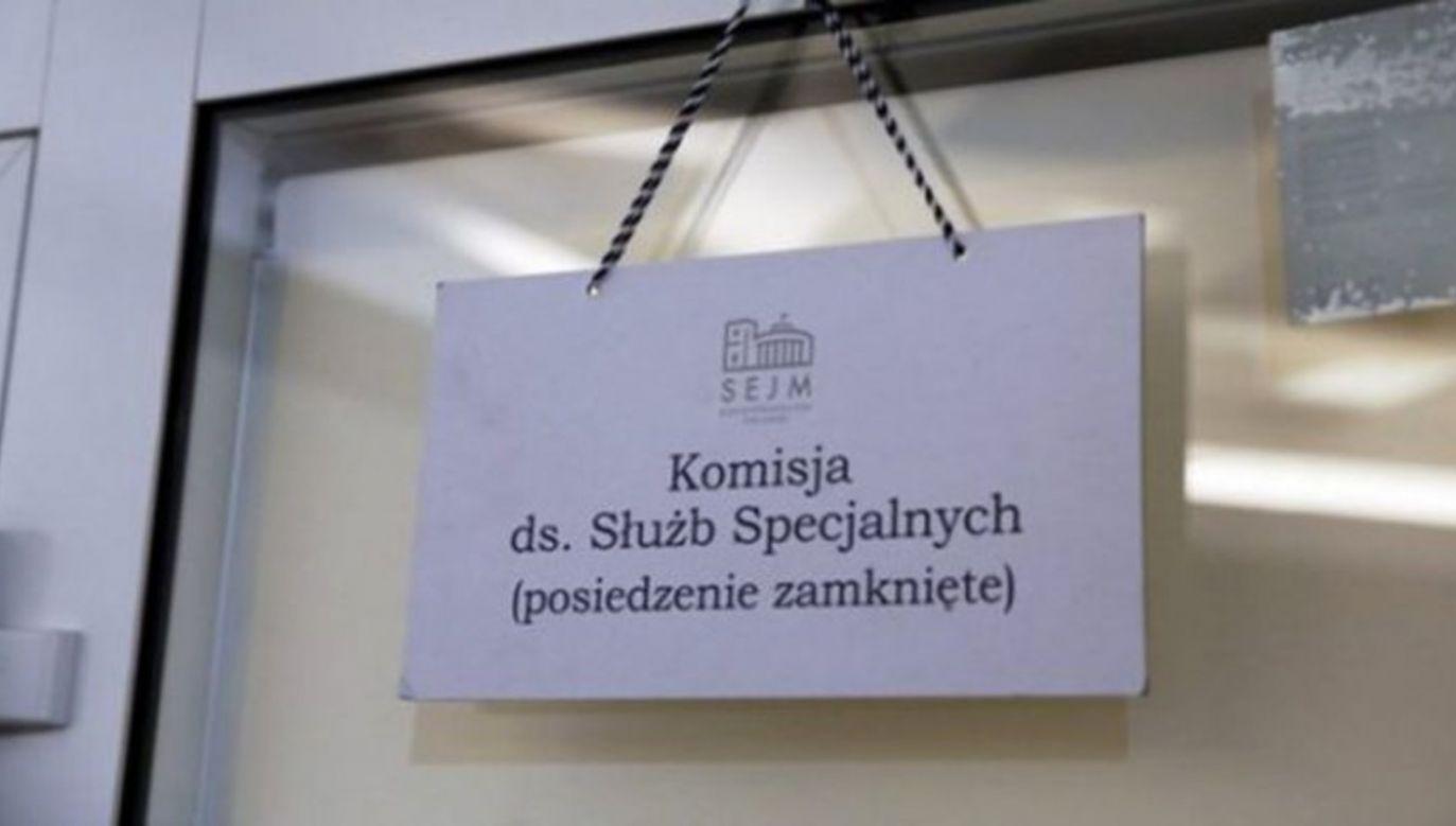 Posiedzenie komisji odbędzie się w trybie niejawnym (fot. TVP)