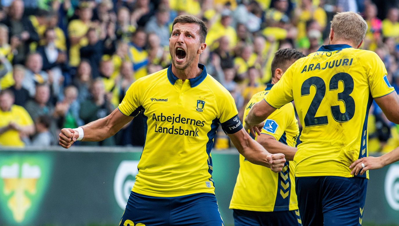 Kamil Wilczek strzelił w barwach Broendby 96 goli (fot. Reuters\Ritzau Scanpix Denmark)