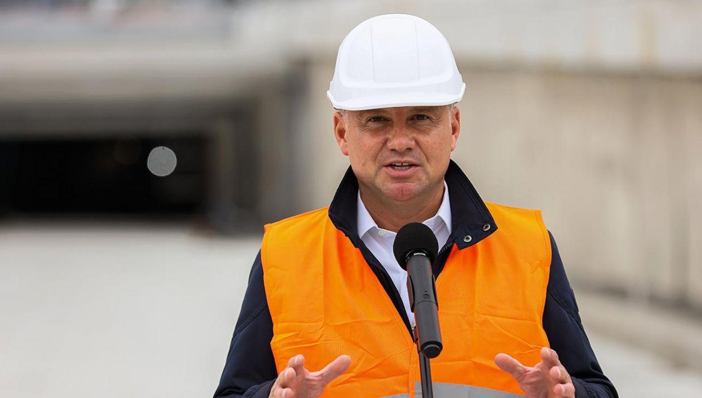 Budowa tunelu w Świnoujściu (fot. PAP/Jerzy Muszyński)