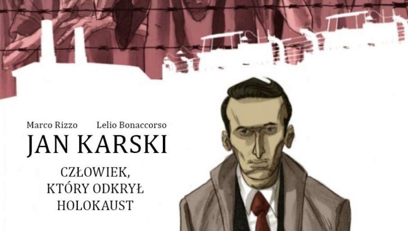 Opowieść oJanie Karskim ukazała się także w Polsce  nakładem wydawnictwa Alter (fot. fragment okładki)