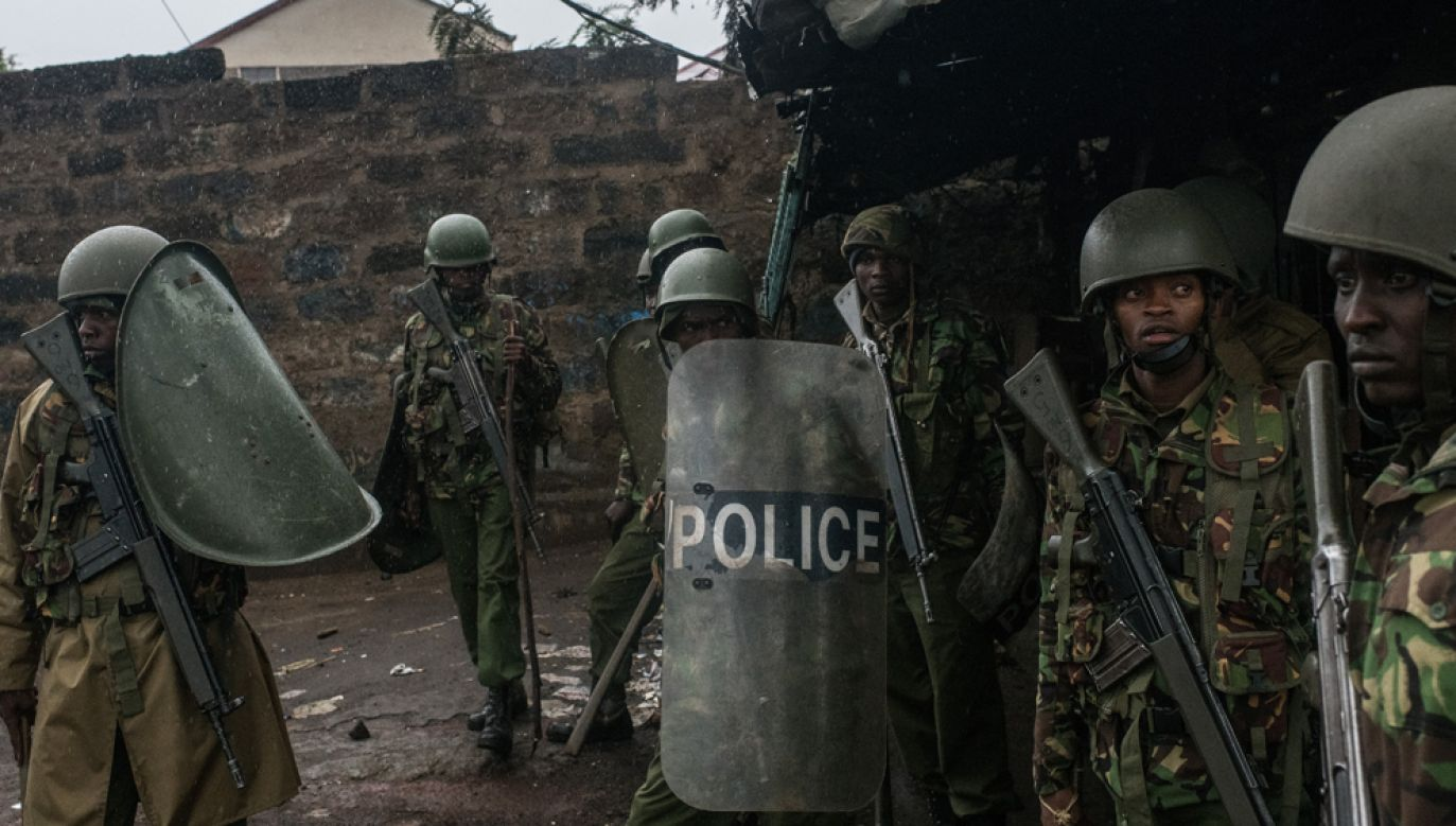 Islamistyczna organizacja Al-Szabab często przeprowadza zamachy na członków sił bezpieczeństwa Kenii(fot. Andrew Renneisen/Getty Images)