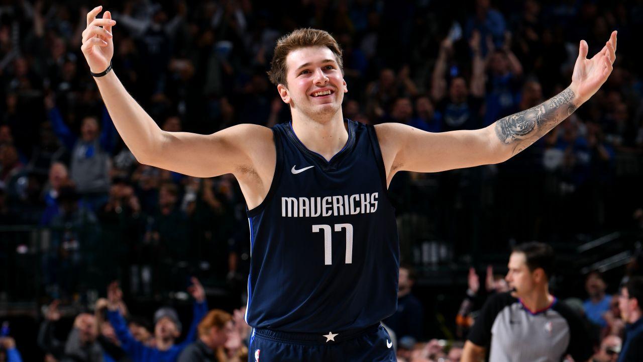 21-letni Luka Doncić to jeden z najlepszych koszykarzy świata (fot. Getty Images)