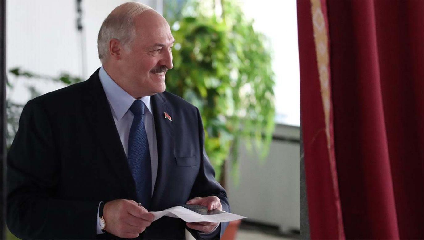 Alaksandr Łukaszenka rządzi Białorusią od 1994 roku (fot. PAP/EPA/TATYANA ZENKOVICH)