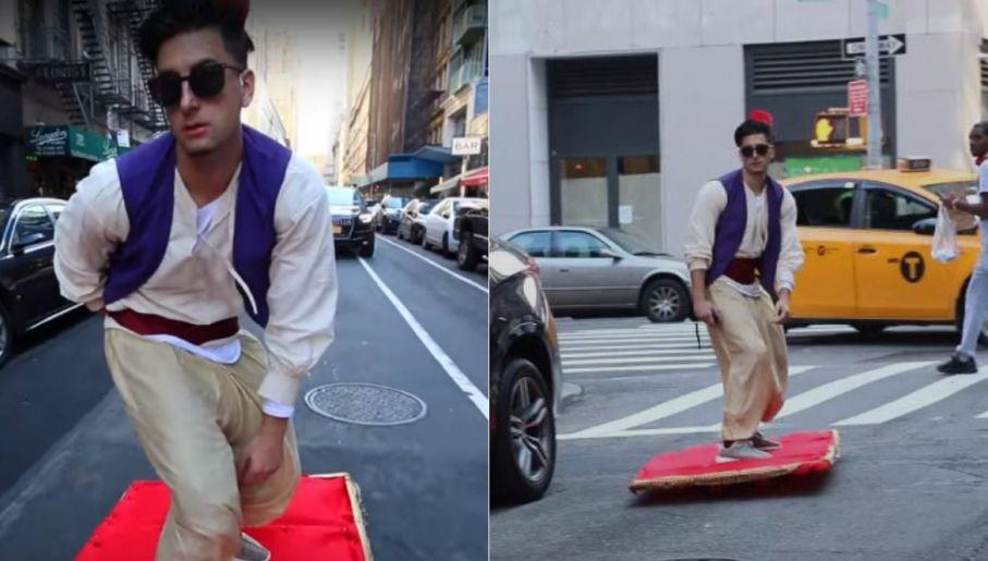 Myślisz że Nic Cię Już Nie Zaskoczy Zobacz Aladdina Na