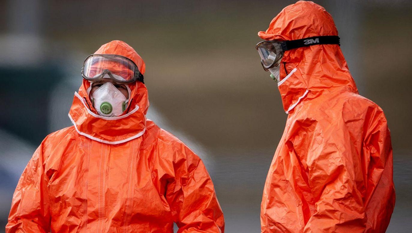 Liczba zakażeń może być mniejsza niż wcześniej zapowiadano (fot. Lukas Kabon/Anadolu Agency via Getty Images)